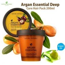 Nature Republic Argan Essential Deep Care - mask juustele