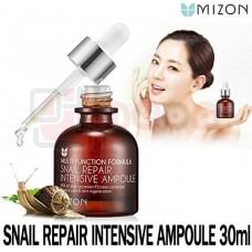 MIZON Snail Repair Intensive Ampoule - kontsentreeritud 80% teolimaseerum