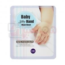 Holika Holika Baby Silky Hand Mask Sheet - mask kätele