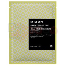 MIZON Enjoy Vital-Up Time [Calming Mask] - rahustav näomask taruvaiguga