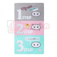 Holika Holika pooride puhastuskomplekt Pig Nose Clear Black Head 3-Step Kit