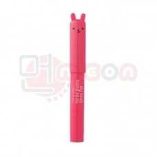 TONY MOLY Petite Bunny lip gloss bar #9 Punane Neoon