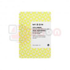 MIZON Vita Lemon Sparkling Peeling Gel - sidrunit sisaldav kooriv geel  (tester)