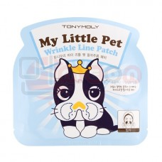 TONY MOLY Be My Little Pet Wrinkle Line Patch - geelmask naerukortsudele