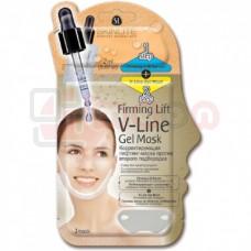 Skinlite Firming Lift V-Line Gel Mask -  pinguldav geelmask lõuapiirkonnale